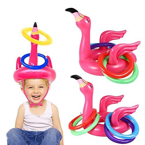 iGeeKid 2 Pack Inflatable Flamingo …