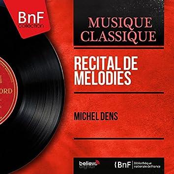 Récital de mélodies (Stereo Version)
