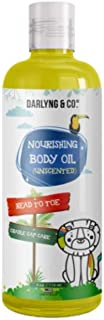 Unscented Head to Toe Nourishing Body, Scalp & Cradle Cap Oil   Massaging Oil  Belly Oil  Coconut Oil  Grapeseed Oil  Sunflower Oil (4 oz)