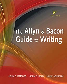 The Allyn & Bacon Guide to Writing (6th Edition)