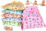 MOM Cares Cloth Nappies for Newborn,Reusable Diapers, Cotton Langots,U Shaped Double Layer Padded...