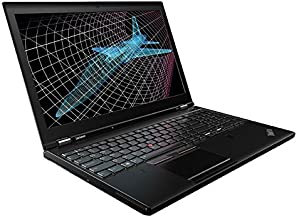 2018 Lenovo ThinkPad P50 15.6' Notebook Intel Quad Core I7-6700HQ Upto 3.5G,NVIDIA Quadro M1000M 2G,Webcam,1920x1080,16G,1T,USB3.0,HDMI,Mini DP,W10P64,Support-English/Spanish(Renewed)