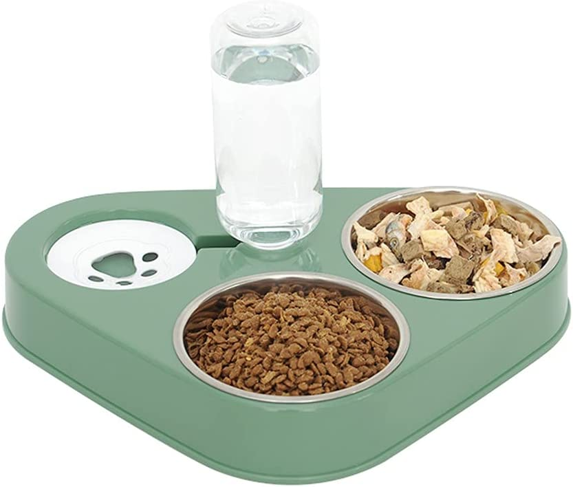 pawstrip Cat Limited price Bowls Feeder Elevated Automati with Stand Detroit Mall Dog