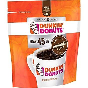 Dunkin  Donuts Original Blend Ground Coffee Medium Roast  45 oz