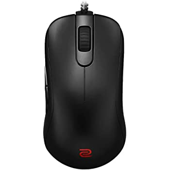 BenQ Zowie S2 Symmetrical Gaming Mouse for Esports | Professional Grade Performance | Driverless | Matte Black Coating | Small Size