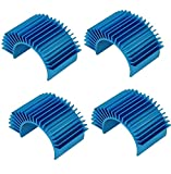 4 Pack Mirthobby Aluminum Electric Engine Motor Heatsink Cooling Heat Sink Fins for 550 540 3650 Size Brushed...