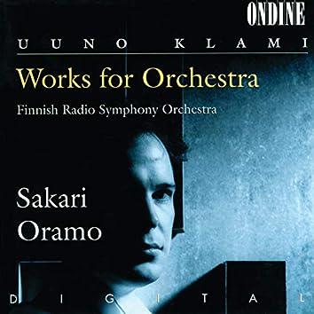Klami: Works For Orchestra