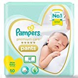 Choosing the right diaper size based on baby weight is important. The diaper capacity may vary among babies depending on the volume of pee and posture Pampers Premium Care is Voted #1 SOFTEST Diaper in India by Moms*.New Pampers Premium Pants with ne...
