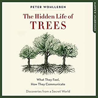 The Hidden Life of Trees     What They Feel, How They Communicate - Discoveries from a Secret World              Autor:                                                                                                                                 Peter Wohlleben                               Sprecher:                                                                                                                                 Mike Grady                      Spieldauer: 7 Std. und 33 Min.     22 Bewertungen     Gesamt 4,7