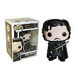 Funko - Figurine Game of Throne - Jon Snow Pop - Version neige - 849803038694...