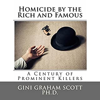 Homicide by the Rich and Famous audiobook cover art