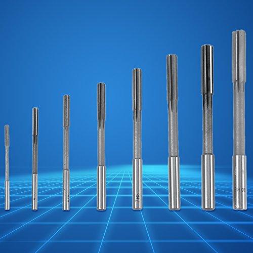 para máquina perforadora, escariador de mandril de mango recto de 8 piezas, escariador de mandril de máquina, herramientas industriales