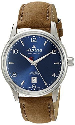 Alpina AL-525N4E6 Alpiner Herren-Armbanduhr, analog, automatisch, selbstaufziehend, Braun