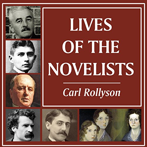 Lives of the Novelists  By  cover art