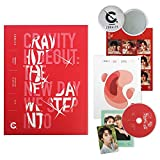 CRAVITY Season2. Album - HIDEOUT : The New Day We Step Into [ Ver. 2 ] CD + Photobook + Photo Cards + Sticker + FREE GIFT / K-POP Sealed