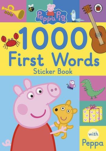 Peppa Pig. 1000 First Words Sticker Book