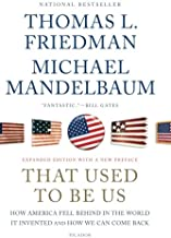 thomas l friedman that used to be us