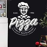 DOUYUAN Pizza Aufkleber Restaurant Aufkleber Poster Vinyl