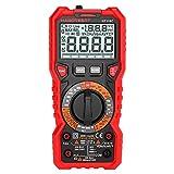 ZYY Multímetro digital - Ht118C multímetro digital Manual gama Multi-Meter 6000 cuentas de verdadero valor eficaz de medición AC / DC Tensión Corriente Resistencia de la capacitancia de frecuencia Tem
