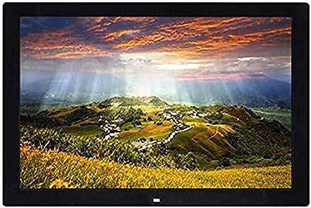 Marcos fotos digitales Marco fotos digital 19 pulgadas Resolución 1366 x 768 Máquina publicidad 1080P Álbum electrónico Pantalla LCD LED HD 16: 9 Temporización Encendido y apagado Reloj Calendario I