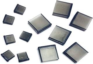 monofive microUSB(オス)、USB A(オス)コネクタ用 保護カバーキャップ 6個+6個入 黒(半透明) MF-MUSBC2-12B