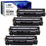 LxTek CE285A 85A Compatible Reemplazo para HP CE285A 85A Cartuchos de tóner para HP...