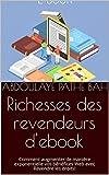 Richesses des revendeurs d'ebook: Comment augmenter de manière exponentielle vos bénéfices Web avec Revendre les droits! (French Edition)