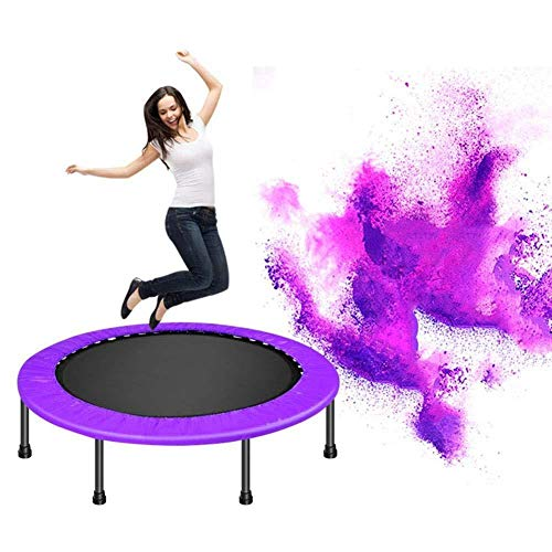 Mini Trampoline Oefening Jumper Aerobic Fitness(48in) Thuis Gym Oefening Maximale belasting 100kg,Rood