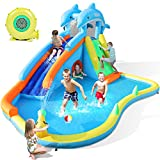 Best Water Slides - Naice Inflatable Water Slide, Bounce House for Wet Review