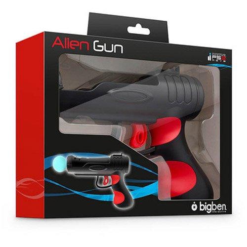 Sony PS3: Move Pistolenaufsatz Alien Gun Gun pour Playstation Move Echter Abzug, der de