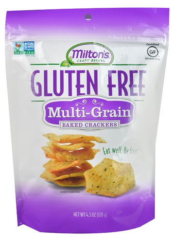 Milton's Gluten Free Baked Crackers Multigrain -- 4.5 oz - 2 pc