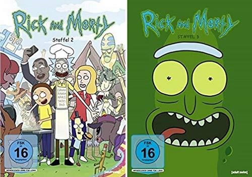 Rick & Morty Staffel 2+3 [DVD Set]