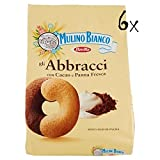 6x Mulino Bianco Kekse Abbracci 700g Italien biscuits cookies kuchen brioche