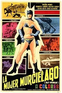 Bat-Woman Poster Foreign 27x40 Maura Monti Roberto Caedo H?ctor Godoy