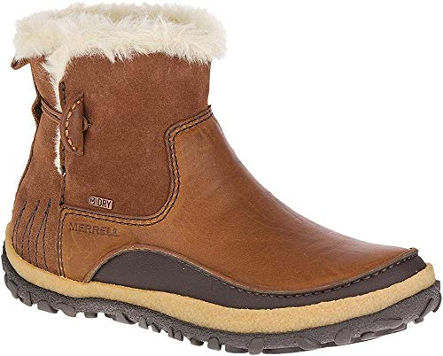 Merrell Damen Tremblant Pull on Polar Waterproof Kurzschaft Stiefel, Braun Oak, 39 EU