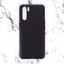 Oppo A91 Case, Scratch Resistant Soft TPU Back Cover Shockproof Silicone Gel Rubber Bumper Anti-Fingerprints Full-Body Pro...