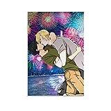 Anime-Poster mit Bananenfisch-Motiv, Okumura Eiji und Ash