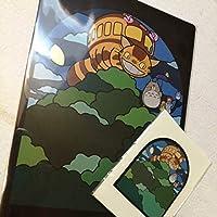 スタジオジブリ ジブリの大博覧会 となりのトトロ クリアファイル ポストカード ステンドグラスデザイン ポスター 宮崎駿