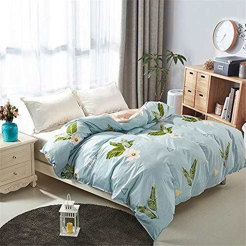 Ademend, comfortabel dekbedovertrek, omkeerbaar, 100% katoen, dekbedovertrekset voor kinderen, slaapkamer met kingsize bed, afmeting 240 x 220 cm, 1 stuk voor 1 tweepersoonsbed, enz.