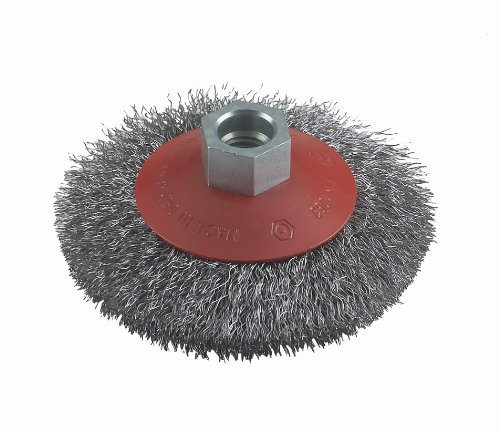 Bosch Professional Zubehör 2608622057 Kegelbürste 100 mm, 0,3 mm, 12500 U/ min