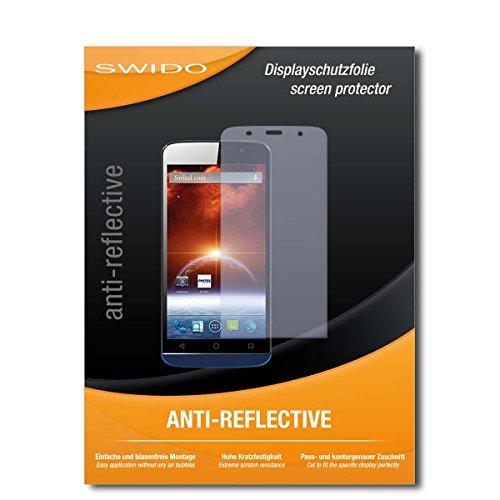 SWIDO Bildschirmschutz für Switel S5502D [4 Stück] Anti-Reflex MATT Entspiegelnd, Hoher Festigkeitgrad, Schutz vor Kratzer/Glasfolie, Schutzfolie, Bildschirmschutzfolie, Panzerglas Folie