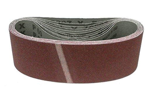Klingspor LS 307 X Schleifband | 75 x 575 mm | 10 Stück | Körnung: 80