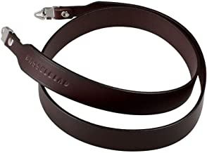 Wide Genuine Leather Neck Strap Shoulder Belt with lugs for Hasselblad 500CM 501CM 503CX 503CW Camera Dark Brown