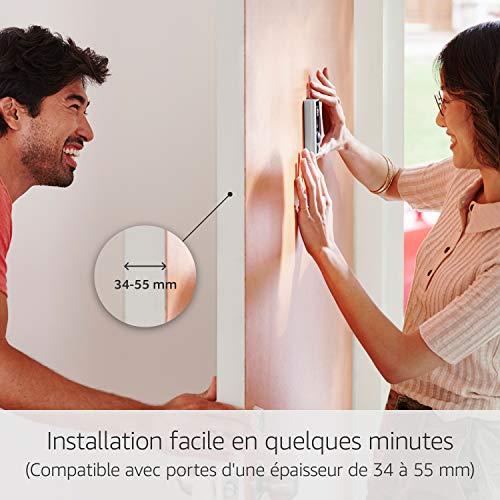 Sonnette sans fil vidéo Ring Door View Cam HD 1080 4