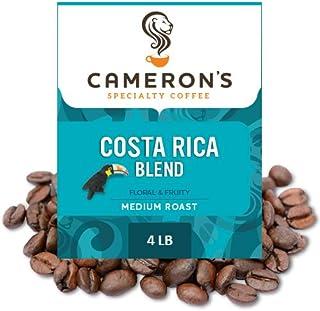 Cameron's Coffee 烘焙研磨咖啡 Costa Rica混合物 4磅(约1.8kg)