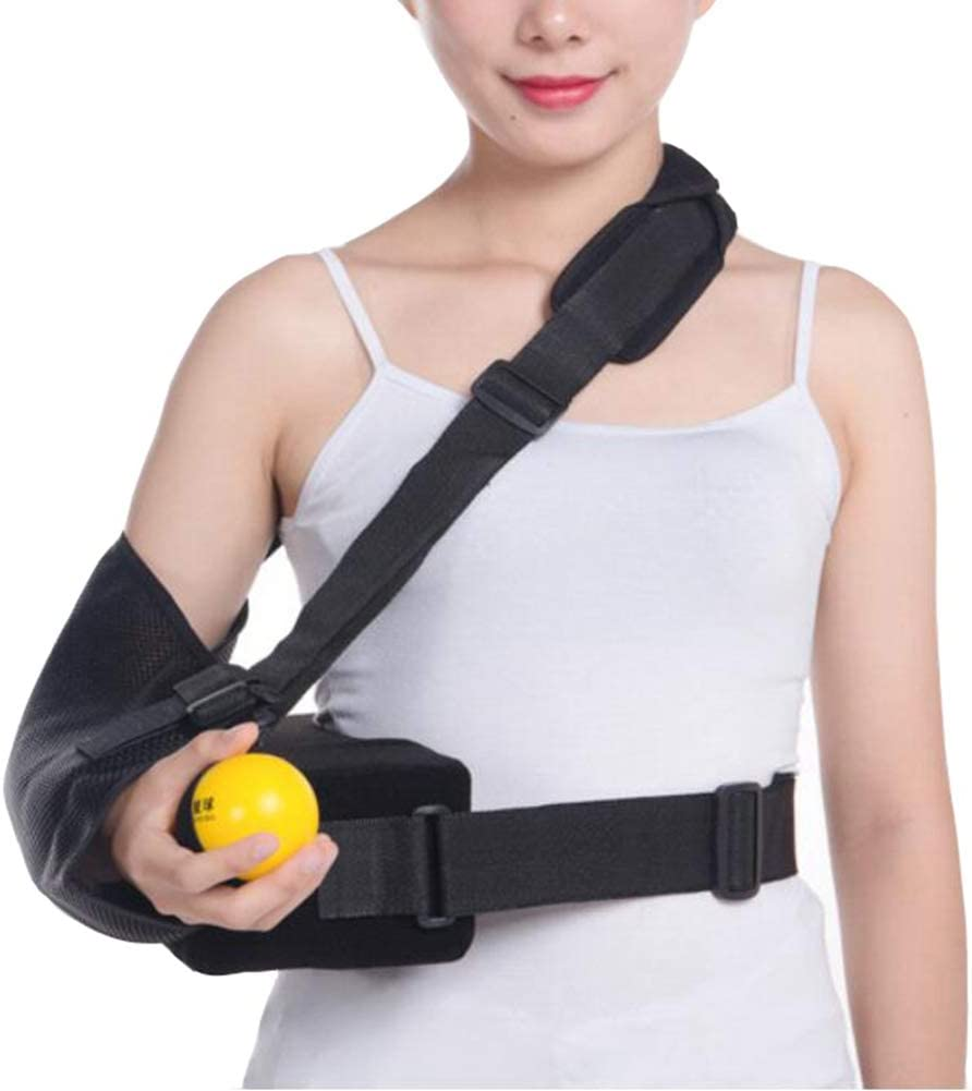 JIN Arm Sling Shoulder San Diego Limited price Mall Immobilizer Pain Pillow Relief