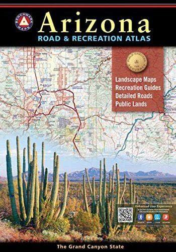 Arizona Road Recreation Atlas Benchmark Recreation Atlases product image