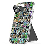 Phone Case Danny Accessories Phantom Shockproof Charm Bumper Compatible with iPhone 6 Plus 6s 7 8 Se 2020 X Xs Xr 11 12 Pro Max Mini
