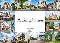 Recklinghausen Impressionen (Wandkalender 2022 DIN A3 quer): Impressionen der einmaligen Kreisstadt Recklinghausen (Monatskalender, 14 Seiten )