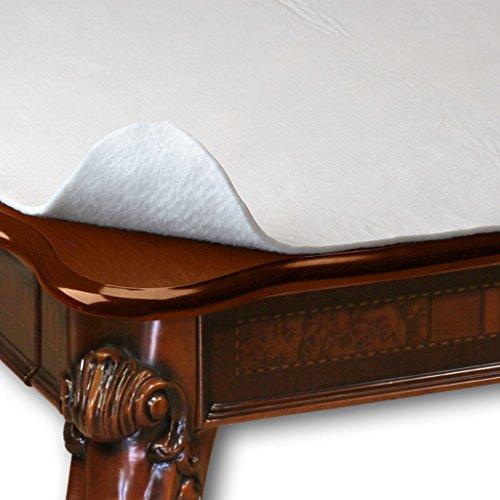 HomeCrate Wide Premium Cushioned Heavy Duty Vinyl Table Pad, 70